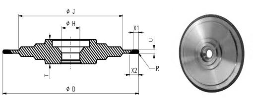14F1-ST Profiling wheels