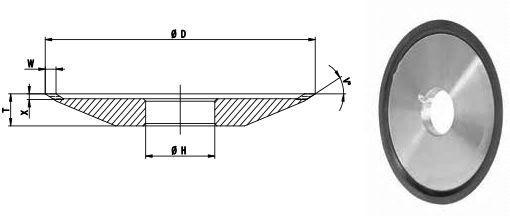 4V2 Face Grinding Wheel